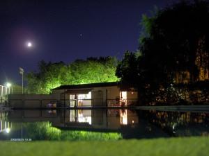 La piscina al final del verano