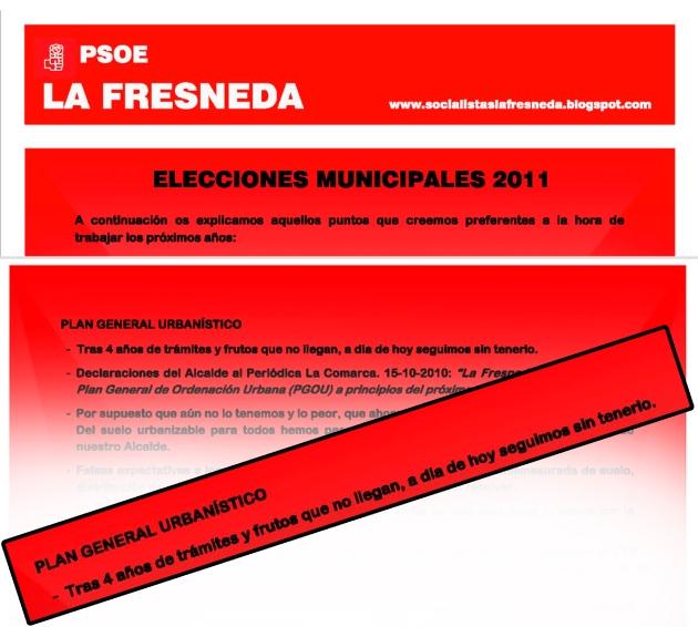 programa incumplido psoe 2011